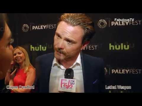 Clayne Crawford plays Riggs on 'LETHAL WEAPON' the TV series premiere on FabulousTV