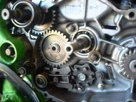 Kawasaki KX80 Repair and First Run on