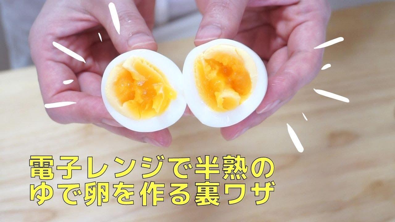 電子 茹で レンジ 卵
