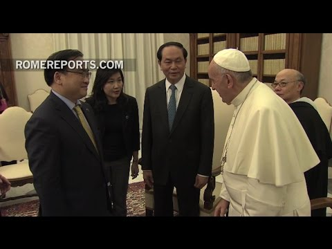 Pope to the President of Vietnam: I see that we agree on our projects