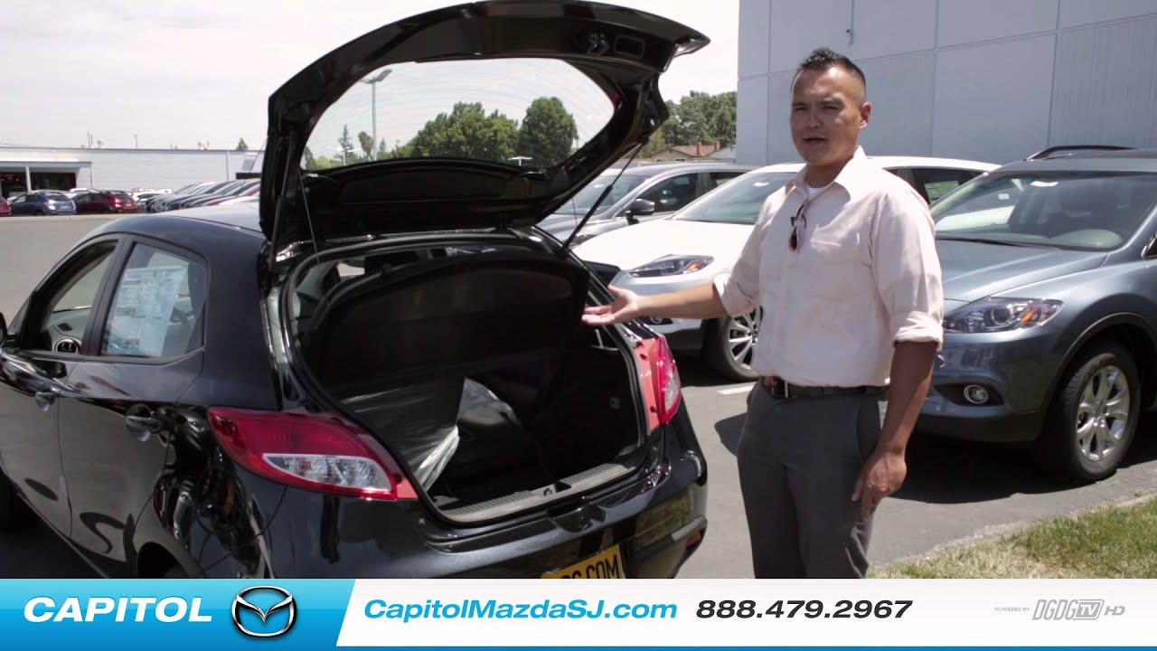 2014 mazda2 hatchback review - captiol mazda - youtube