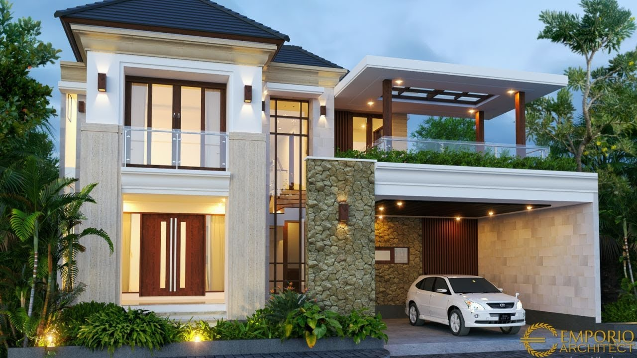 Newest Private House Design Tropical Villa Bali Style By Emporio Architect Design Pictures