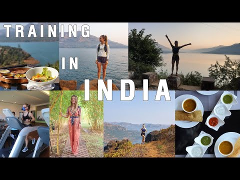TRAINING IN INDIA | Upper body workout, food & running | Atmantan hotel