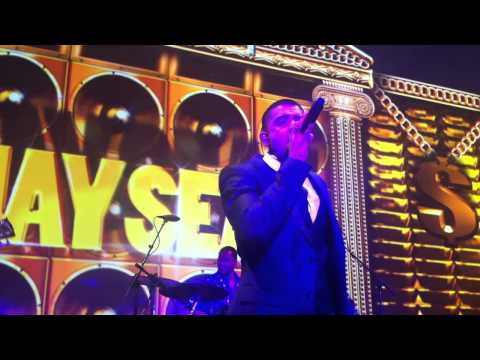 Jay Sean and Kevin Rudolf perform at Cash Money Grammy party