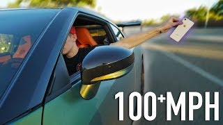 100MPH IPHONE 8 DROP TEST!
