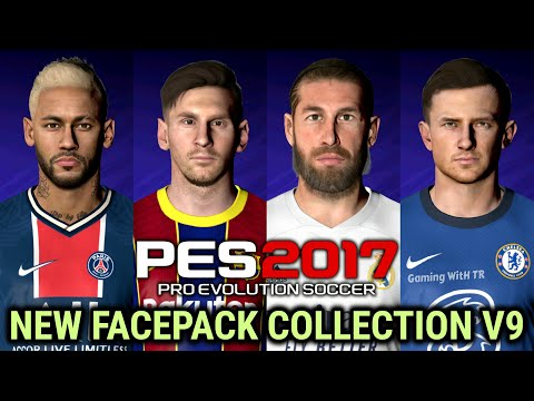 Pes 2017 New Facepack Collection V9 Download Install Youtube