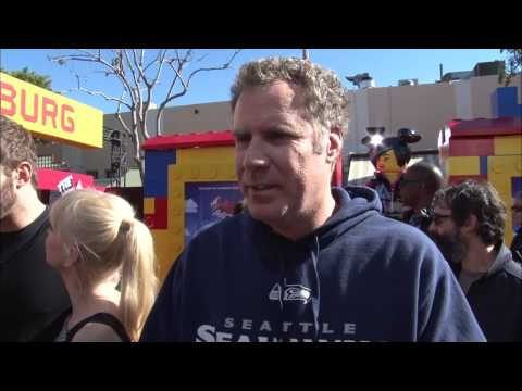"""The Lego Movie: Will Ferrell """"President Business/Lord Business"""" Movie Premiere Interview"""