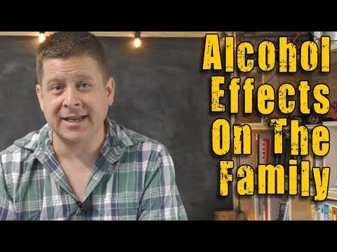 how alcoholism and the affects the family and friends.