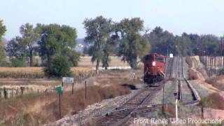 """BNSF 7296 North - """"Officer On The Train"""" Special w/ Extras!!!"""