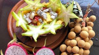 #Тайланд#Фруктовый салат#Манго#Ананас#