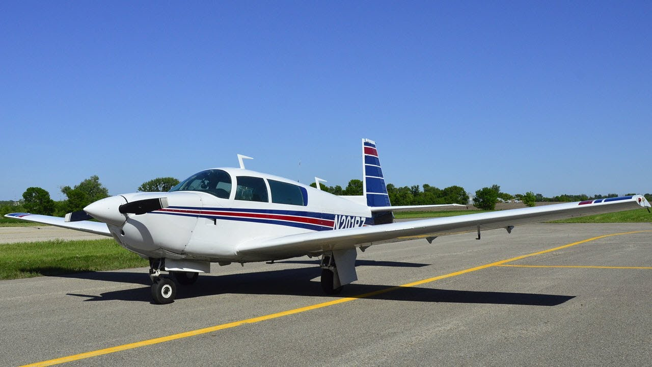 Download Mooney M20J aircraft review: Flight speeds & Landing with gusty winds