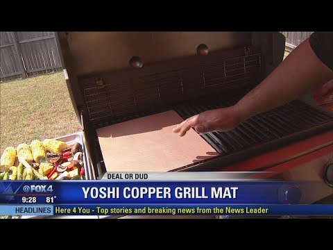 Deal or Dud - Yoshi Copper Grill Mat