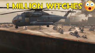 1 million witches - Left 4 dead 2