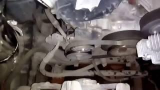 Замена ремня ГУР Nissan Pathfinder R51