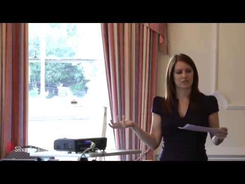 Live event filming -Kelly Molson RubberCheese Seminar - Hertford & Ware Business Showcase 2012