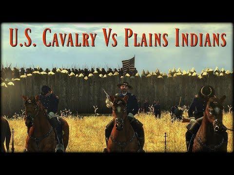 U.S. Cavalry Vs Plains Indians