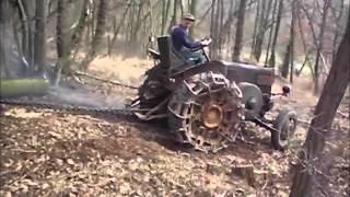 Holz machen mit dem Lanz Bulldog 2014