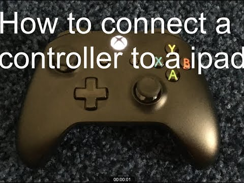 How to connect a Xbox one/PS4 controller to iPad or iPhone
