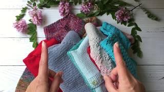 Навязала!!! Обзор детских свитеров, ч.1 ( модели до 2-х лет)