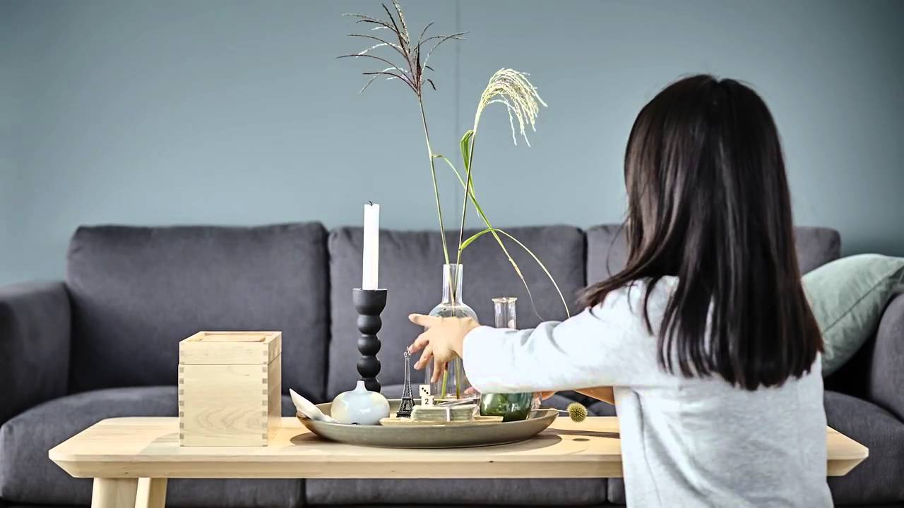 Ikea Ideas How To Style A Coffee Table Youtube