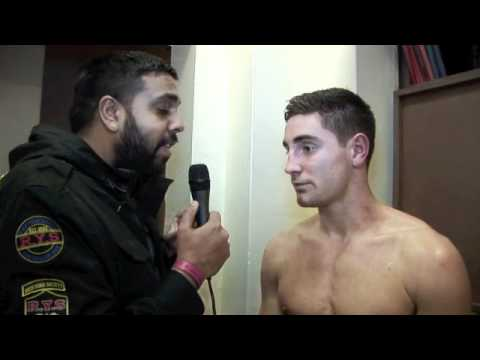 FRANK BUGLIONI POST-FIGHT INTERVIEW FOR iFILM LONDON / BUGLIONI v CLARK