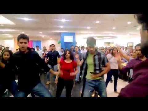 Deloitte Mumbai Flash mob September 2014