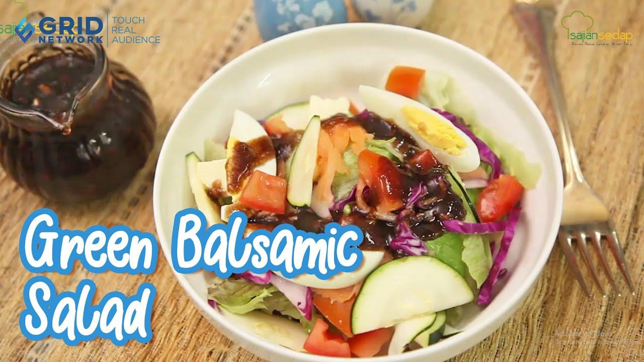 Resep Masakan Natal Green Balsamic Salad Untuk Pembuka Makan Malam Natal Youtube