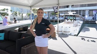 HCB Suenos 53 Walk-through at Yachts Miami