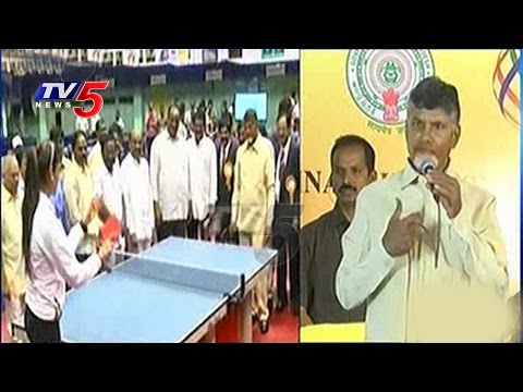 Free WiFi to All Universities & Colleges in AP Says CM Chandrababu | Telugu News | TV5 News