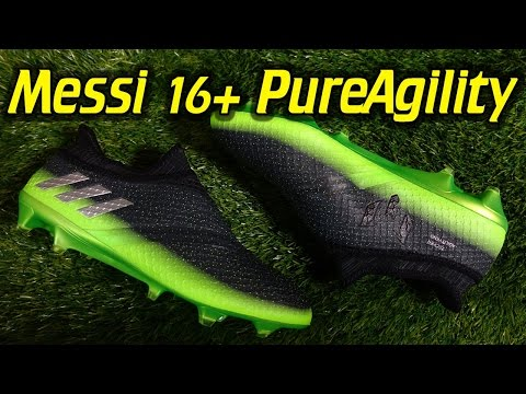 Adidas Messi 16+ PureAgility (Space Dust Pack) - Review + On Feet
