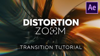 Smooth Distortion Zoom Transition - After Effects Tutorial  - Like Handy Seamless Transitions