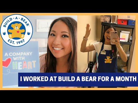 I Worked At Build A Bear For A Month | What It Was Like Vs. Disney Store