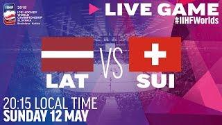Latvia vs. Switzerland | Full Game | 2019 IIHF Ice Hockey World Championship