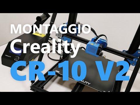 Unboxing e montaggio stampante 3D Creality CR-10 V2