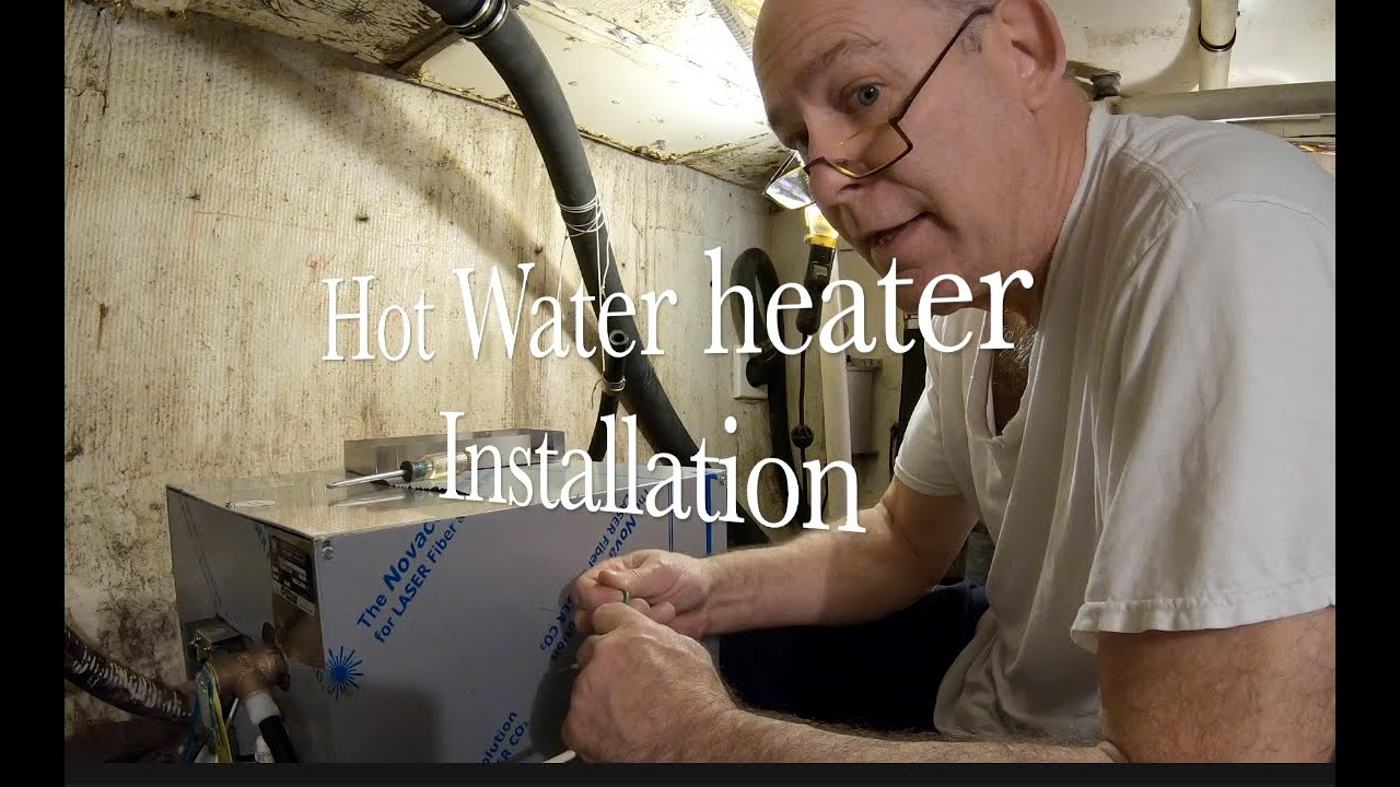 DIY Ep #6 Installation of a New Hot Water Heater - YouTube