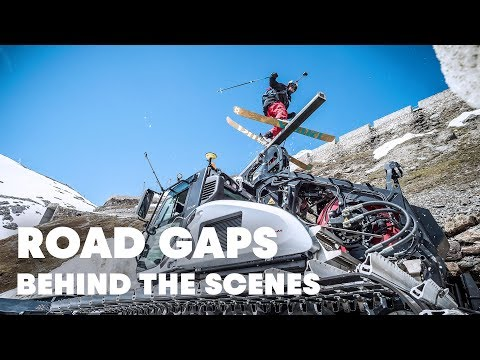 Behind The Scenes Of Freeskiing The Stelvio Pass | Road Gaps w/ Bene Mayr & Markus Eder