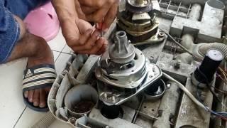 Cara memasang kaki dinamo spin mesin cuci 2 tabung
