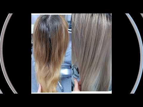 Моё преображение) Рыжий VS Пепельный Сменила цвет волос