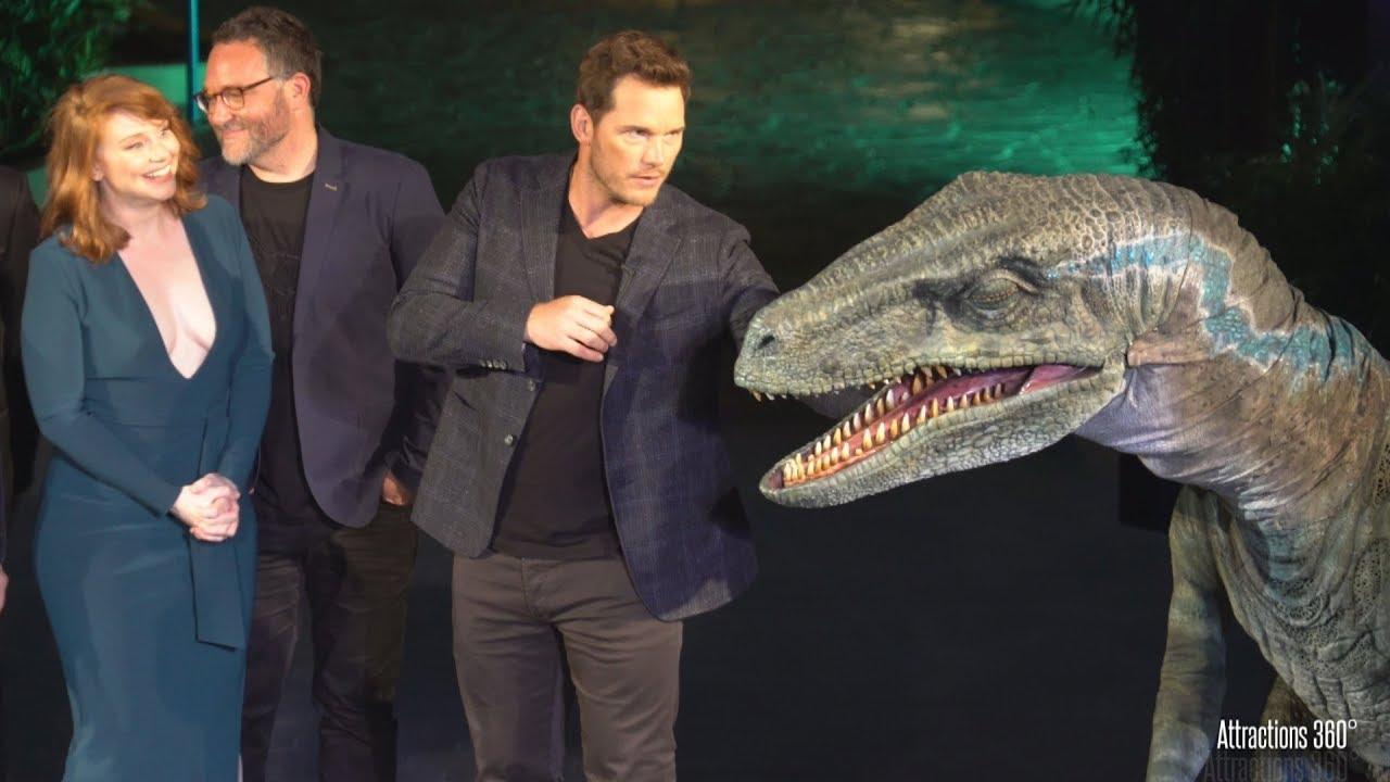 Jurassic World Ride Grand Opening Celebration at Universal Studios Hollywood