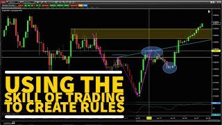 FOREX TRADING - Using The Skill of Trading To Create Rules