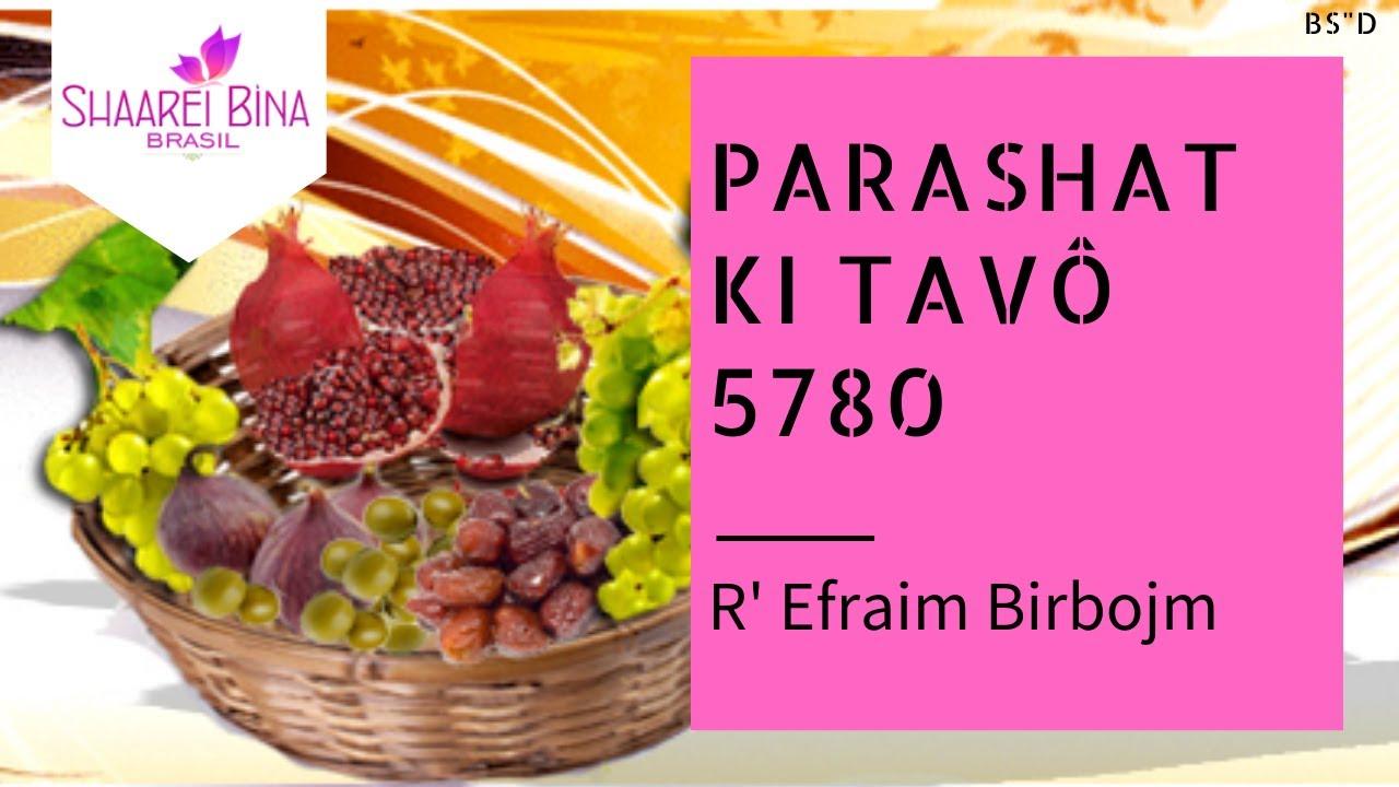Parashá Ki Tavô 5780/ 2020