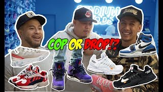COP OR DROP ON RECENT HYPED SNEAKERS AT STADIUM GOODS!