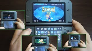 RAYMAN 3D - NINTENDO 3DS XL gameplay
