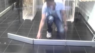 ЮБК - Обзор стеклянной раздвижной системы F1