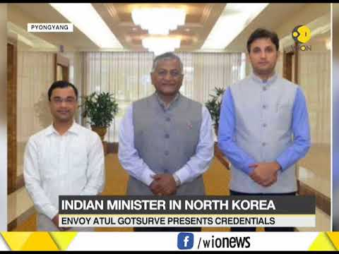 VK Singh Becomes 1st Indian Minister to Visit North Korea In 20 Years
