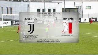 HIGHLIGHTS: Juventus Women vs Pink Bari - 16/3/18