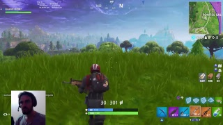 FORTNITE UNLOCKING THE SKIN OF LIVE FILMING