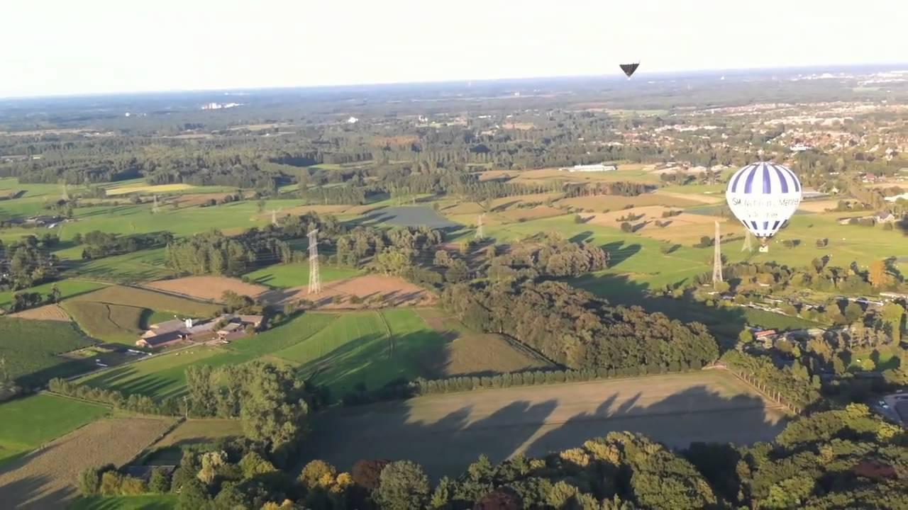 Van uit de luchtballon Nieuw Woensel.MOV - YouTube