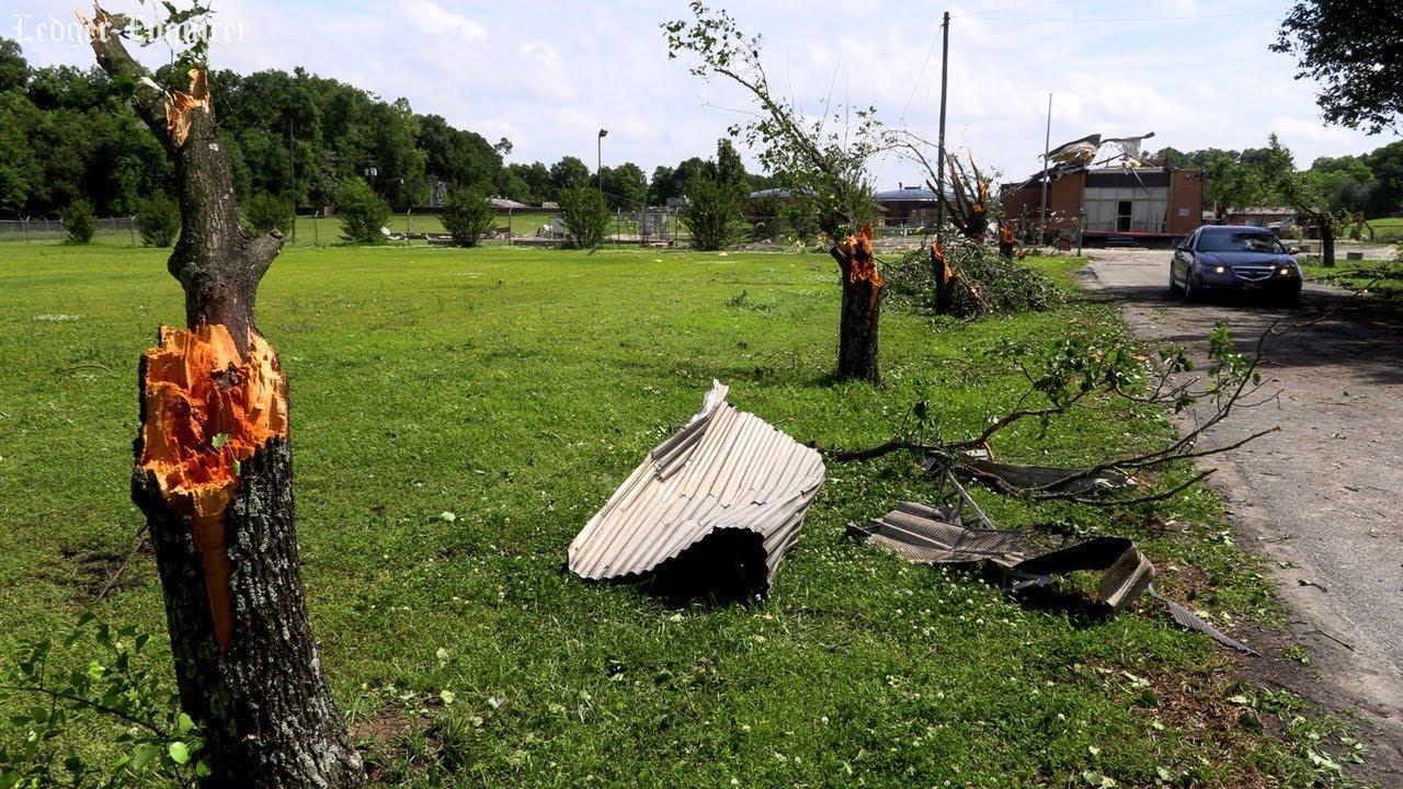 NWS Birmingham classifies tornado that damaged Phenix City, Alabama  Wastewater Facility as EF-0