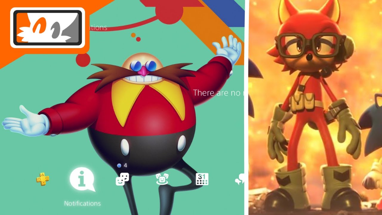 Sonic Mania PS4 Themes & Avatars Included with Pre-Order